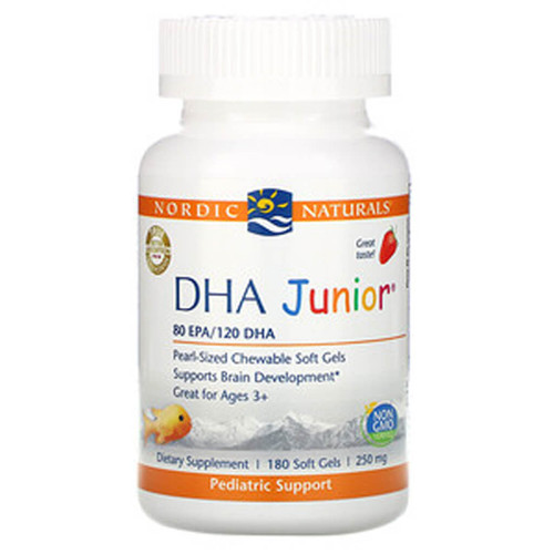 DHA Junior Strawberry Softgels