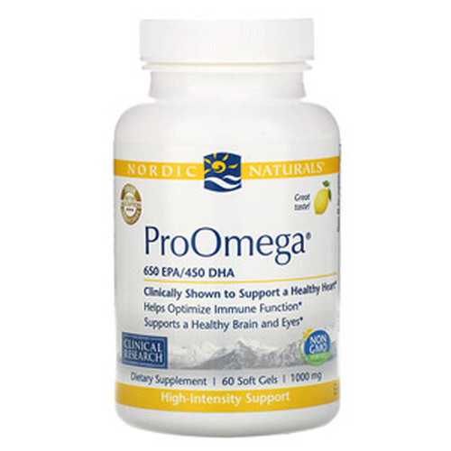 ProOmega Lemon Softgels