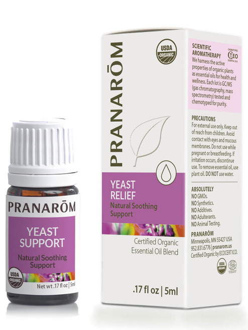 Yeast Relief Essential Oil Blend
