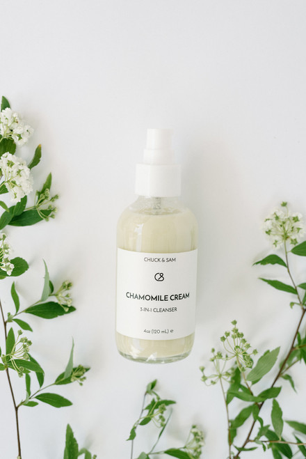 Chamomile Cream cleanser by Chuck and Sam Organics