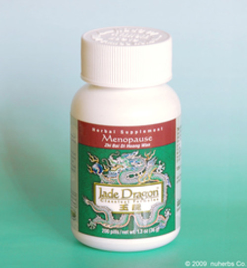 Menopause/Kidney Yin (Zhi Bai Di Huang Wan) Teapills