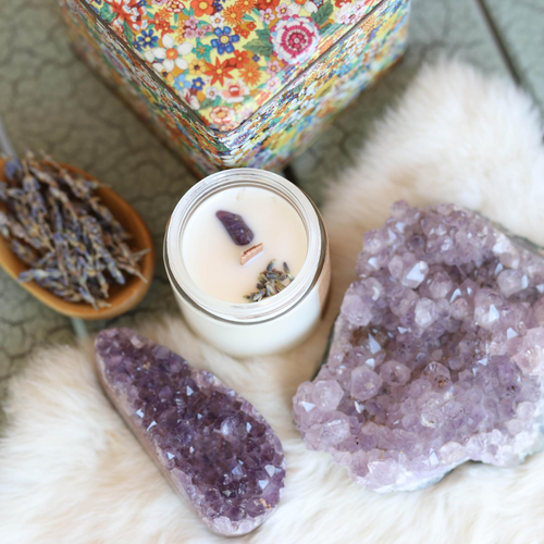 Lit Rituals' Soy Candles