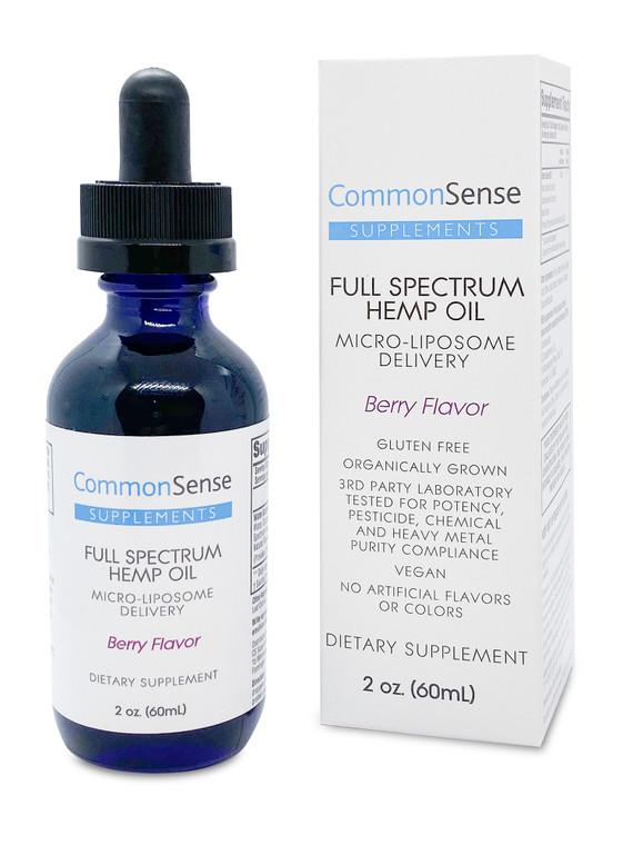 Full Spectrum Hemp Oil - Berry