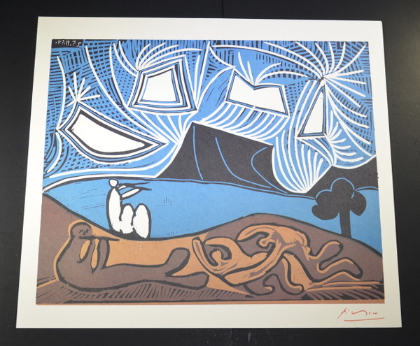 Hand Signed Lithograph Pablo Picasso