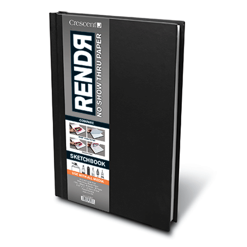 RENDЯ® Hardbound Sketchbook