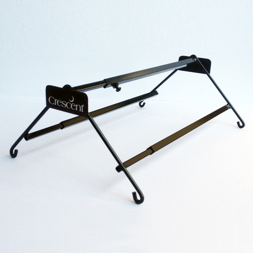 "Adustable Corner Rack - Black (15"" to 26"")"