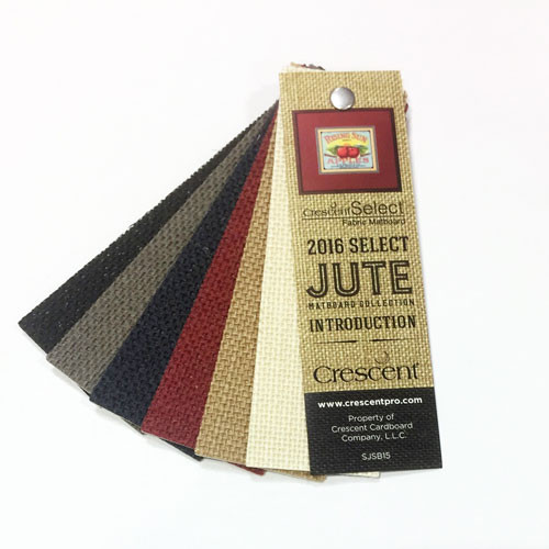Crescent Select 2015 Jute Swatch Book