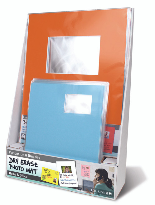 Dry Erase Photo Mat Display