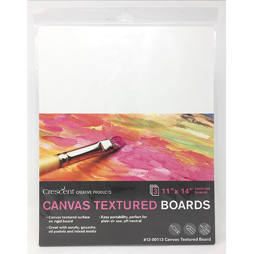 Medium Weight Canvas Textured Boards