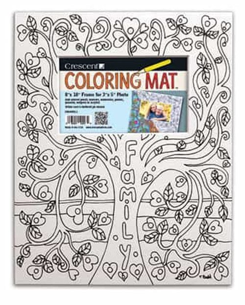 Family Tree Coloring Mat