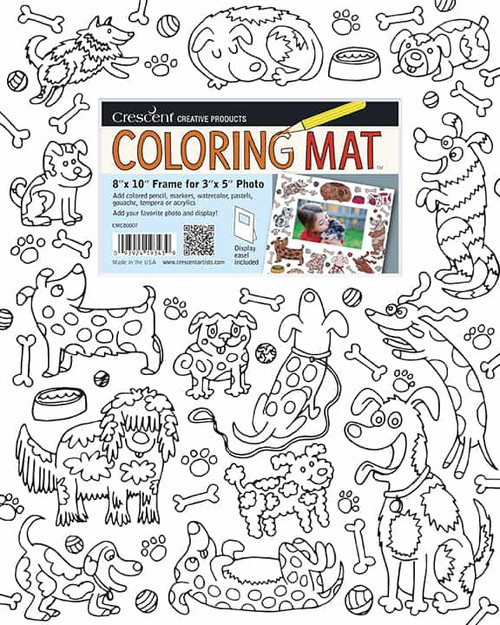 Dogs Coloring Mat