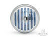 "6"" Chrome + Prison Grill Metal Classic Headlight"