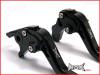 TRIUMPH SPRINT ST Black Shorty Adjustable Levers 1997 - 2003
