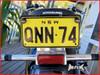 KAWASAKI NINJA - Lasered Logo Aluminium / Stainless Steel License Plate Tag Bolts - Set of 2