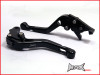 APRILIA CAPONORD / ETV 1000  Black Shorty Adjustable Levers 2002 - 2007