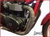 Black Fiberglass Exhaust Heat Wrap - 5 Metre Roll
