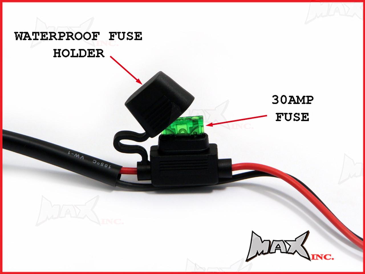 Complete Universal Car Spot Fog Light Wiring Kit Plug N Play Harness Connector Plugs