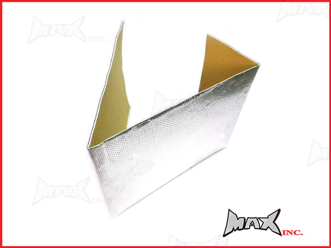 Self Adhesive Exhaust Aluminium Reflective Heat Shield - 100cm x 33cm