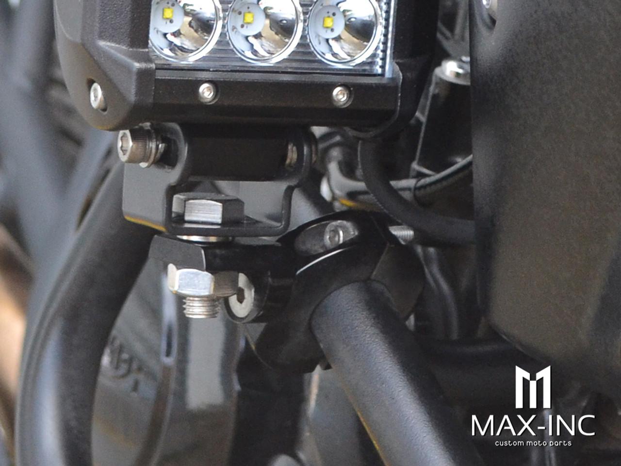 MAX High Quality CNC Machined Bar Mount Light Brackets - 28mm Diameter
