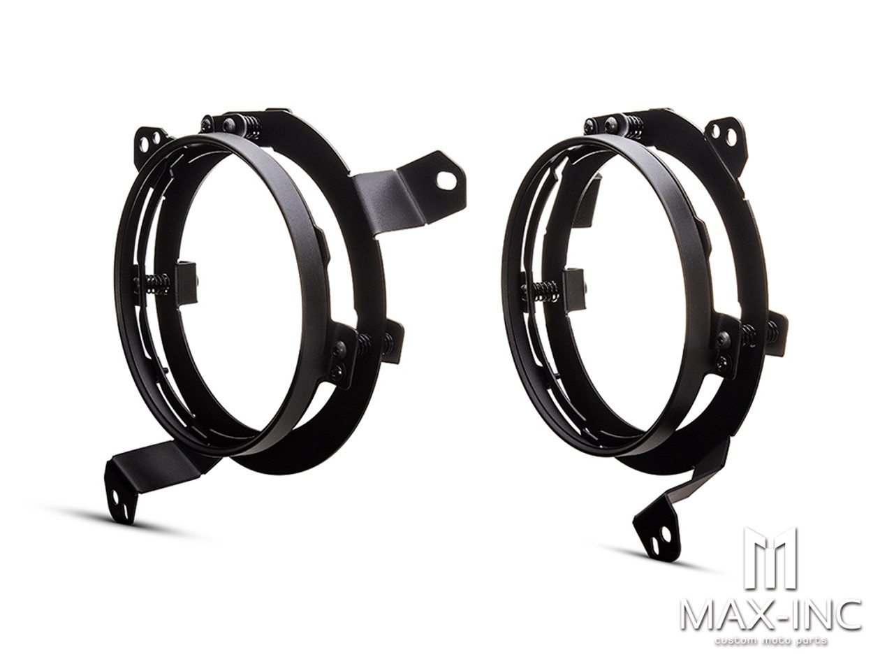 Jeep LED Headlight Upgrade Adapter Brackets - JL, JLU & JT Gladiator