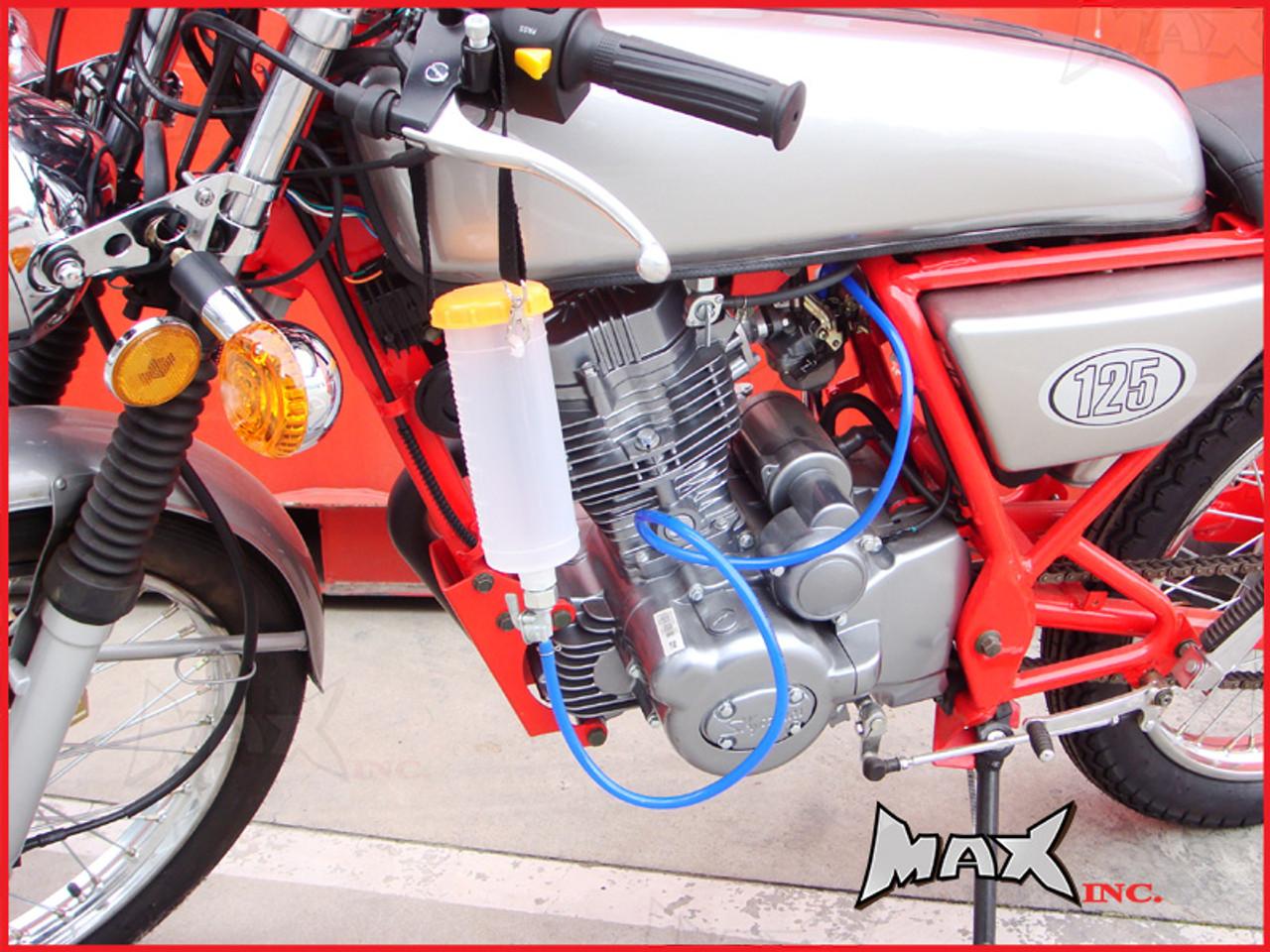 Motorbike Auxiliary Fuel Petrol Tank Workshop Tool Balancing Carbs Carburettor