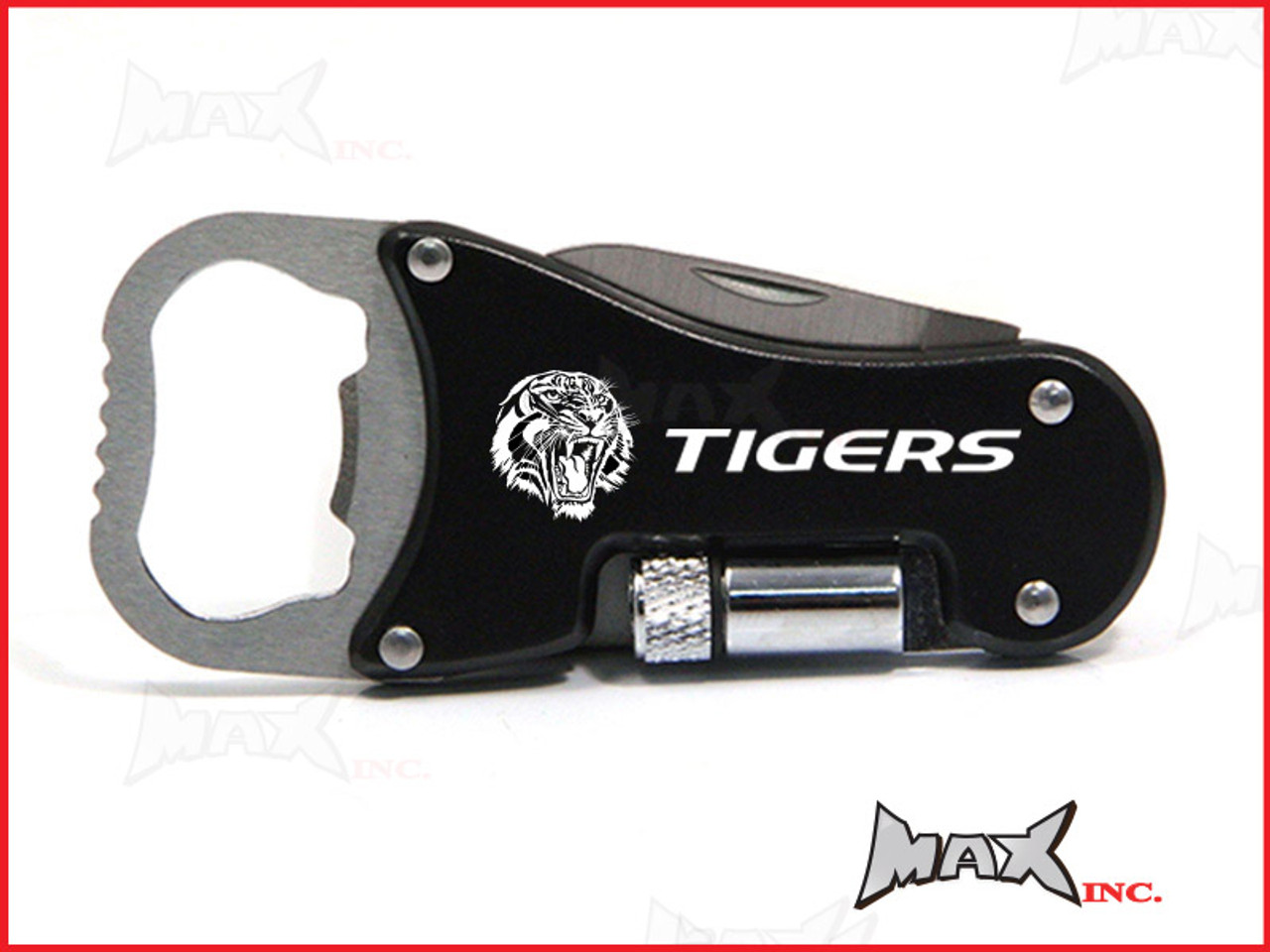 TIGERS - Lasered Logo Keyring / Pocket Knife / LED Torch / Bottle Opener