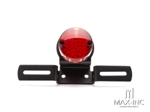 Black Classic Cafe Racer LED Stop / Tail Light