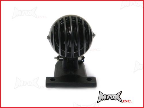 Black Vintage Style Prison Bar Stop / Tail Light - Bulb Type