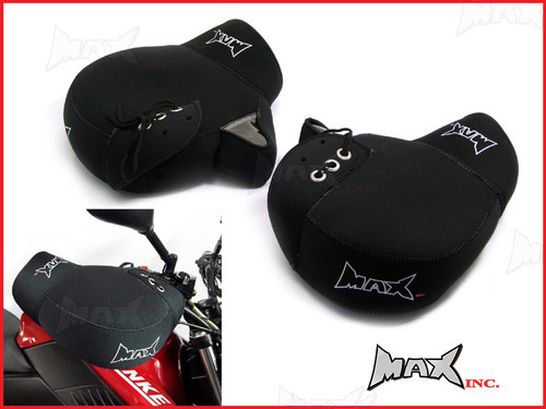 Slip-On Universal Motorcycle / Quad Bike / Scooter Hand Warmer Muffs