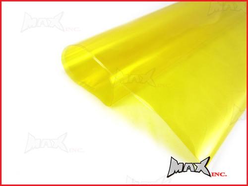High Grade Self Adhesive Yellow Headlight Protective Film - 45cm x 37cm