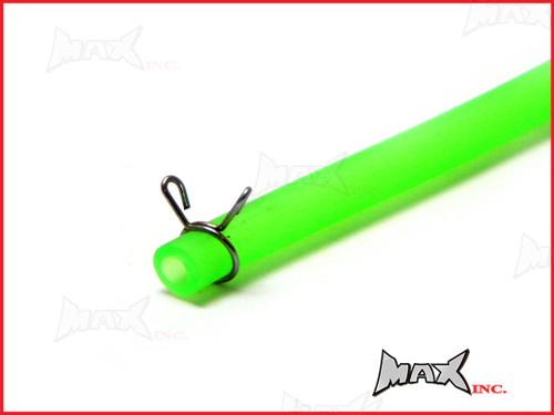 """Green 4mm Silicone Fuel Line Hose - Length 40"""" (100cm)"""