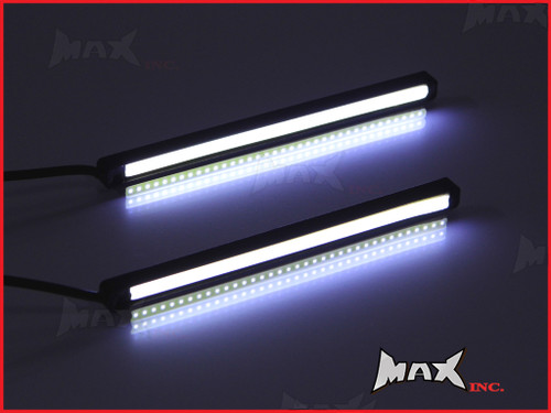 "4.7"" Universal Slim COB LED White Daytime Running LIghts - Aluminium Housing"