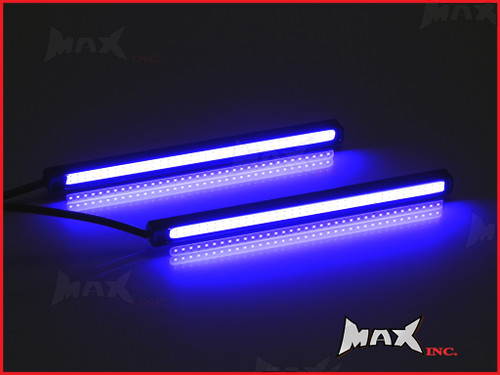 "4.7"" Universal Slim COB LED Blue LIghts - Aluminium Housing"