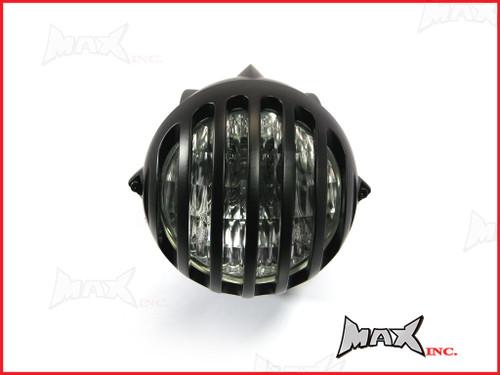 4.5 INCH Matte Black Universal Bird Cage Aluminium Headlight - 55w