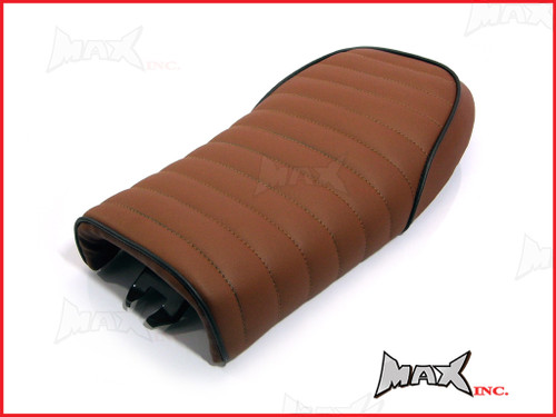 High Quality Rum Brown Universal Scrambler Motorcycle Seat