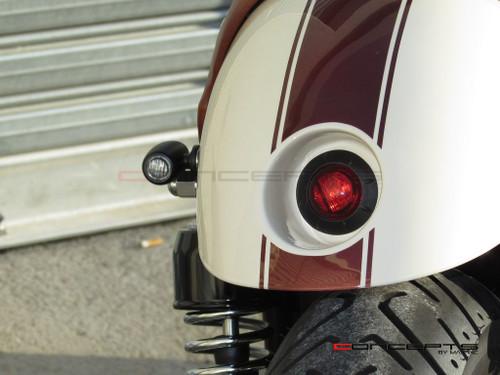 "2"" Cafe Racer Flush Mount LED Stop / Tail Light"