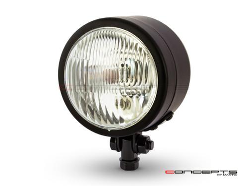 "4.5"" Matte Black Metal Custom Headlight - 12v / 55w"
