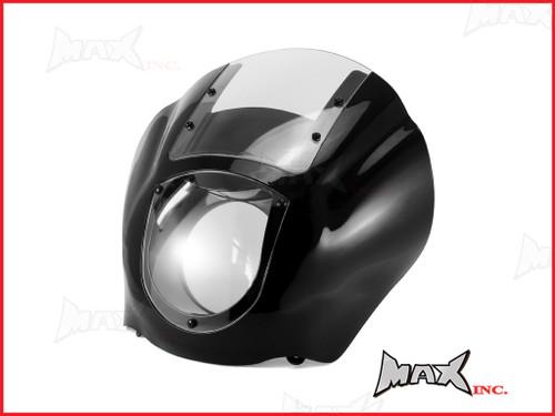 Harley Sportster / Dyna Detachable Quarter Headlight Fairing Kit