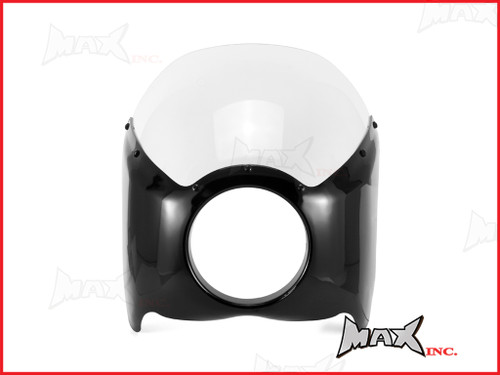 Universal Headlight Fairing For Harley Wide-Glide & Mid-Glide