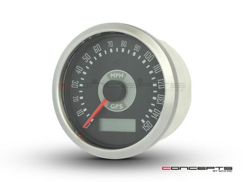 85mm Smiths Replica GPS Speedometer - MPH