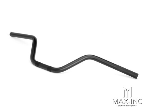 Black Alloy Cafe Racer Ape Bars - 7/8 (22mm)