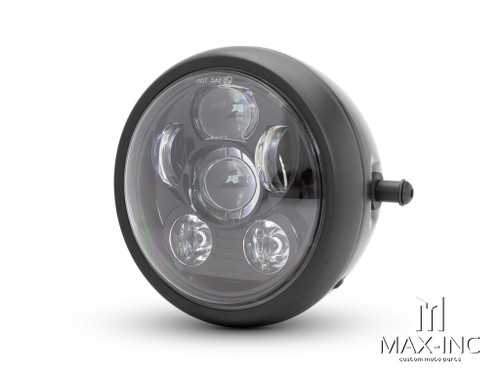 "6"" Metal Housing Six LED Projector Headlight"