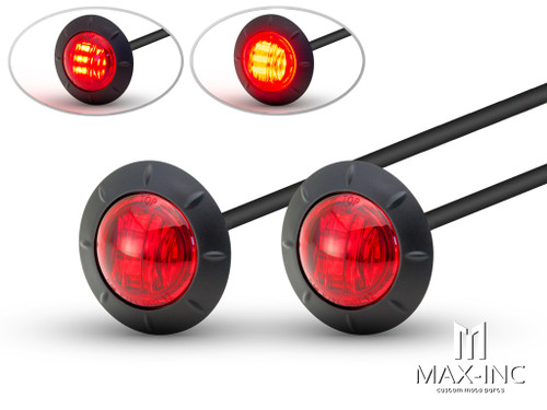 "2"" Flush Mount Sealed LED Stop / Tail Lights - Set Of 2"