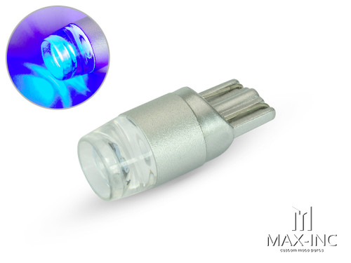 12v / T10 W5W LED Projector Bulb - Blue