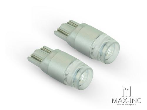 Blue 12v / T10 W5W LED Projector Bulbs - Pair