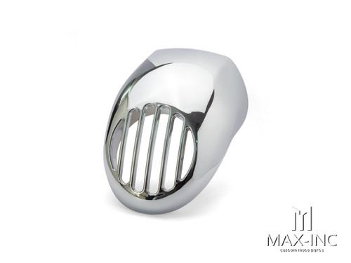 Harley Davidson Sportster Prison Grill Headlight Cowl - Chrome