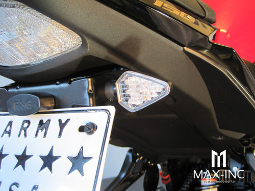 Carbon Pattern Mini LED Turn Signals / Indicators - Emarked