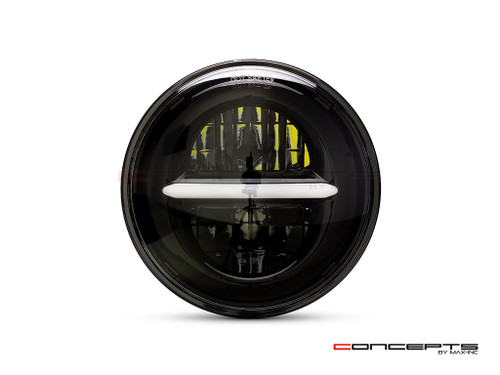 "5.75"" Black Classic / Modern LED Headlight Insert"