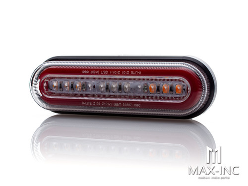 Universal Oval LED Integrated Stop / Tail Light / Turn Signals
