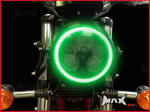 14cm Green Super Bright LED Angel Eye Halo Ring